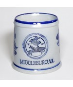 MIDDLEBURG Large German Saltware Mug