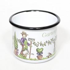 NEW - Gartenfreund Gardener Enamel Mug