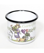NEW - Gartenfreundin Gardener Enamel Mug
