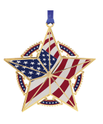 Beacon Design Patriotic Star Ornament