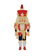 Beacon Design Classic Nutcracker Ornament - TEMPORARILY OUT OF STOCK