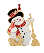Beacon Design Jolly Snowman Ornament