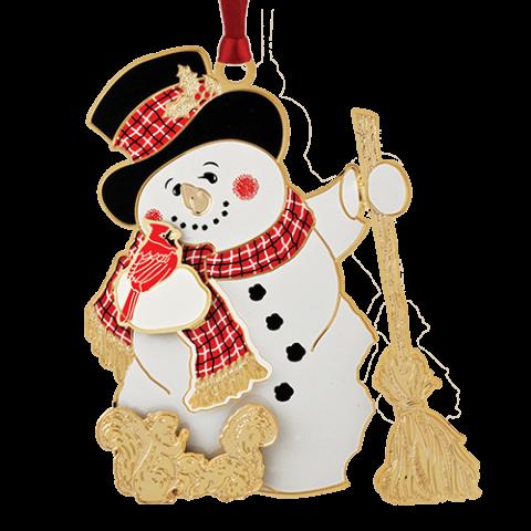 Beacon Design Jolly Snowman Ornament