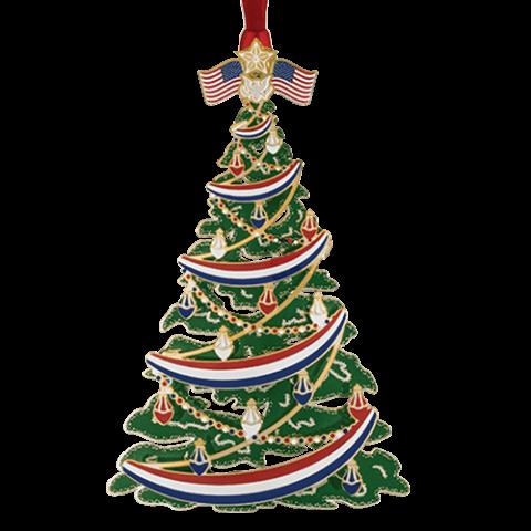 Beacon Design Classic Patriotic Tree Ornament