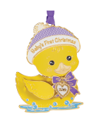 NEW - Beacon Design 2019 Baby's First Christmas Ornament