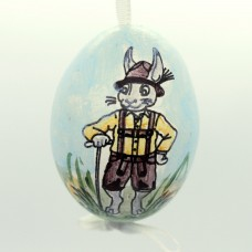 Christmas Easter Salzburg Hand Painted Easter Egg - Frohe Ostern