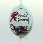 NEW - Christmas Easter Salzburg Hand Painted Easter Egg - Frohe Ostern