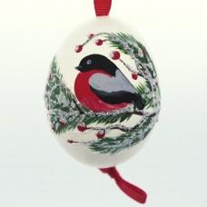Christmas Easter Salzburg Hand Painted Easter Egg - Holiday Bird