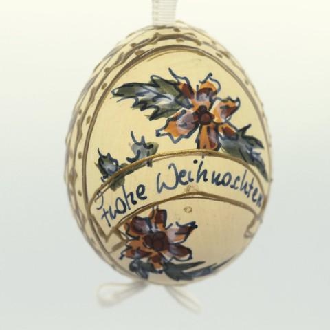 Christmas Easter Salzburg Hand Painted Easter Egg - Christmas Church