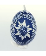 Christmas Easter Salzburg Hand Painted Easter Egg - Edelweiss Egg - TEMPORARILY OUT OF STOCK