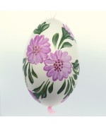 Christmas Easter Salzburg Hand Painted Goose Easter Egg - TEMPORARILY OUT OF STOCK