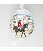 EXCLUSIVE Christmas in Middleburg 2019 Hand Painted Austrian Egg - TEMPORARILY OUT OF STOCK