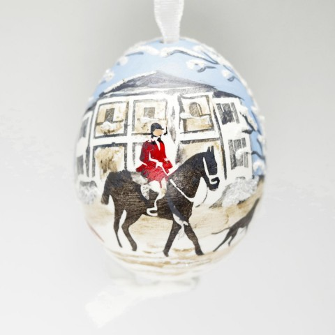 EXCLUSIVE Christmas in Middleburg 2019 Hand Painted Austrian Egg