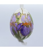 Peter Priess of Salzburg Hand Painted Easter Egg - Flowers - TEMPORARILY OUT OF STOCK