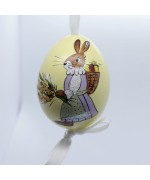 Peter Priess of Salzburg Hand Painted Easter Egg - Mrs Rabbit - TEMPORARILY OUT OF STOCK
