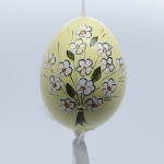 NEW - Peter Priess of Salzburg Hand Painted Easter Egg - Mrs Rabbit