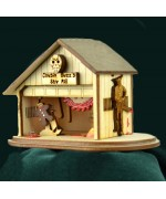 NEW - Ginger Cottages Cousin Buzz's Spooky Saw Mill