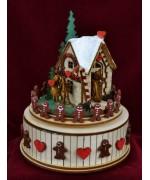 Hansel and Gretel Ginger Cottages Music Box