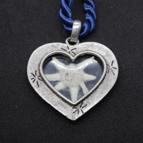 NEW - Oktoberfest Jewelry - Edelweiss Necklace