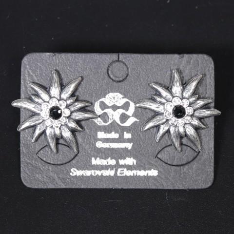 NEW - Women's Edelweiss Swarovski Earrings