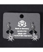 NEW - Women's Edelweiss Swarovski Earrings