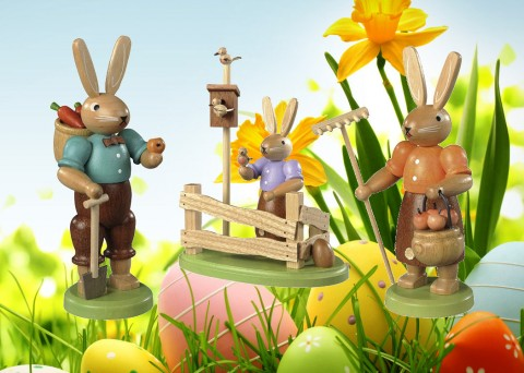Mueller Easter Bunny Special Garden Set - TEMPORARILY OUT OF STOCK