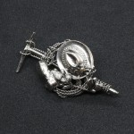 NEW - German Hiking Gear Hat Pin