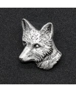German Hatpin Fox Head
