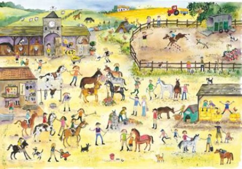 NEW - Wentworth Puzzle - Riding Stables