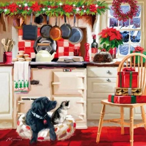NEW - Wentworth Puzzle - Christmas Kitchen