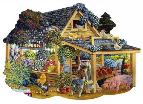 NEW - Wentworth Puzzle - Barnyard Farmers Market
