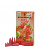 NEW - German Strawberry Incense Cones Raeucherkerzen