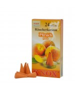 NEW - German Peach Incense Cones Raeucherkerzen