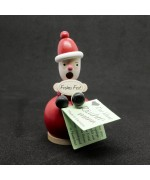 NEW - Miniature Incense Burner - Santa Claus