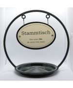 Stammtisch Table Sign with Ash Tray - TEMPORARILY OUT OF STOCK
