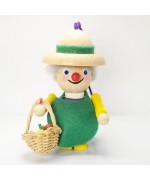 NEW - Gardener Wooden Ornament Christian Steinbach