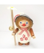 NEW - Happy Walker Wooden Ornament Christian Steinbach