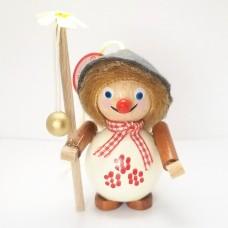 NEW - Happy Walker Wooden Ornament Christian Steinbach