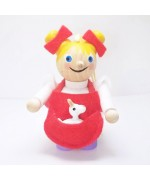NEW - Little Bo Beep Wooden Ornament Christian Steinbach