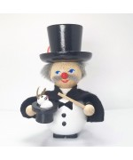 NEW - Magician Wooden Ornament Christian Steinbach