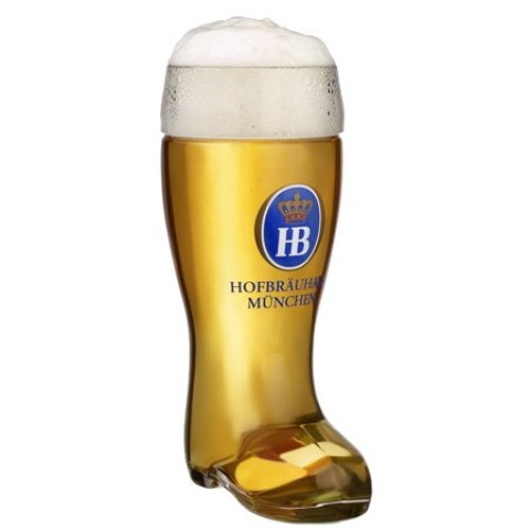 Beer Boot Hofbrauhaus 1 Liter