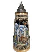 Neuschwanstein Castle Germany 0.5 L Beer Stein