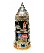 USA KING Beer Stein