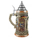 500 Year Anniversary German Beer Purity Law Beer Stein Full Color 1L - TEMPORARILY OUT OF STOCK