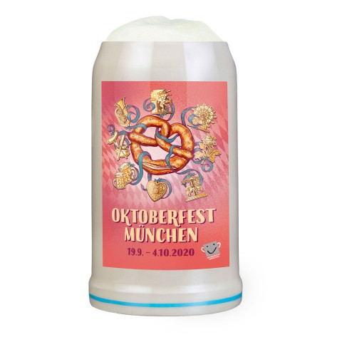 The Official Munich Oktoberfest Beer Stein 2020 - 1 Liter - TEMPORARILY OUT OF STOCK
