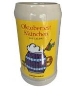 The Official Munich Oktoberfest-Stein 1999 Beerstein - 1,0 Liter