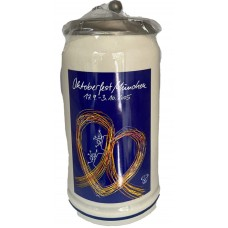 The Official Munich Oktoberfest-Stein 2005 Beerstein - 1,0 Liter TEMPORALLY OUT OF STOCK