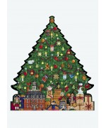 Byers Choice Advent Calendar Williamsburg Christmas Tree - TEMPORARILY OUT OF STOCK