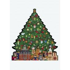 Byers Choice Advent Calendar Williamsburg Christmas Tree