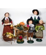 NEW - Byers Choice 2020 Thanksgiving 7 Piece Set